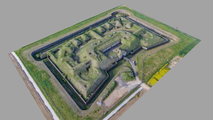 Fort BEAUREGARD 3D Model