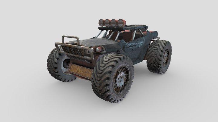 Monster Truck 3D Model 3D Model