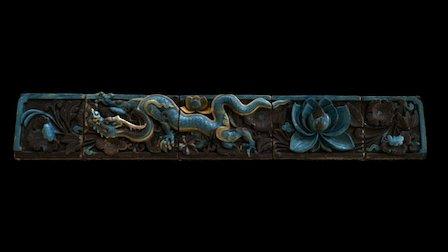 5 /20 Dragon Tiles No. 2 3D Model
