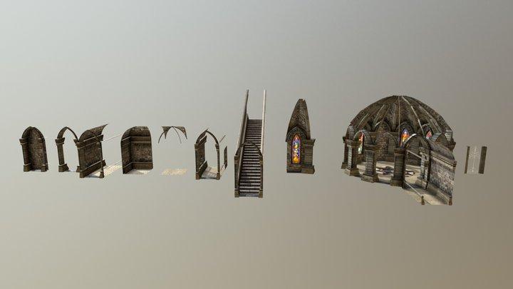 Modulos Entrega1 3D Model