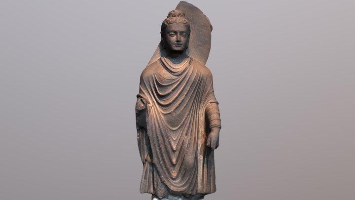 Standing Buddha 3D Model