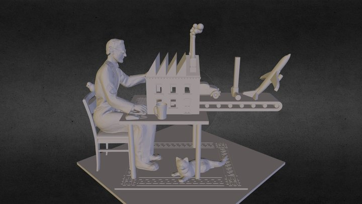 Third Industrial Revolution 3D Model