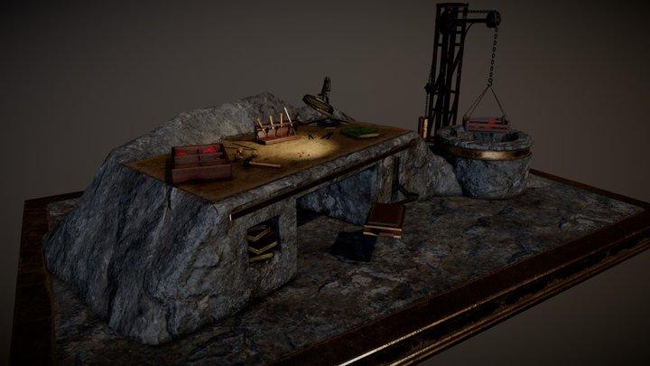 Dwarf workshop 3D Model