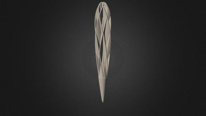 Fibonacci 結構想像 3D Model