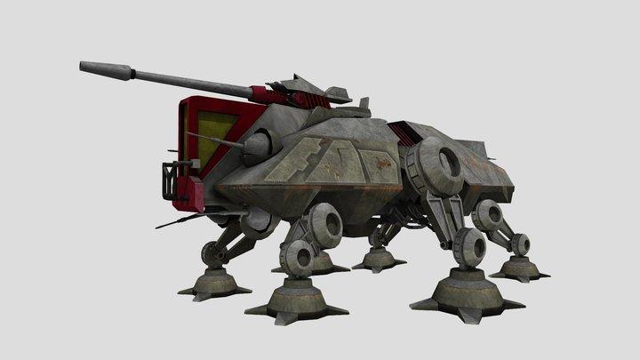 AT-TE Walker 3D Model