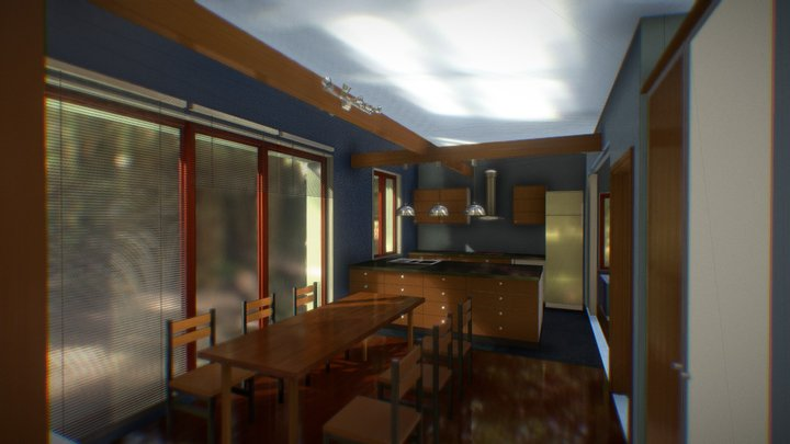 mini house / маленький коттедж 3D Model