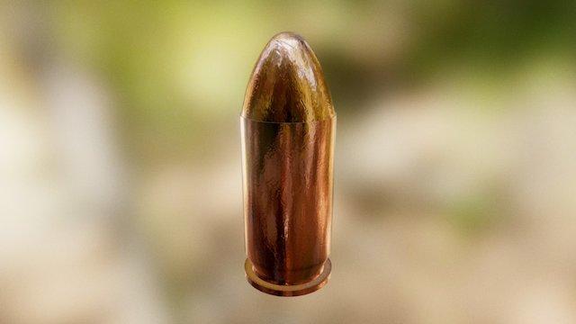 Bullet 045 (HQ) 3D Model