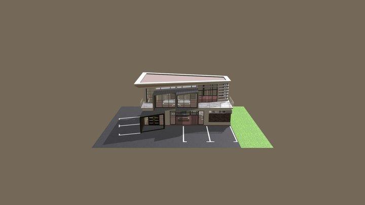 Cijela-zgrada 3D Model