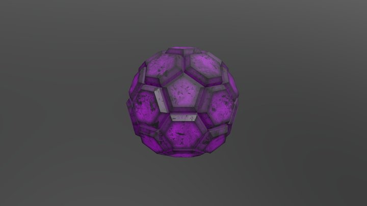 The Cosmotic Mission - Gravity Crystal 3D Model