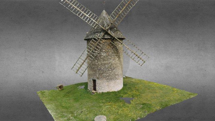 Moulin du Haut-Benauge - Gornac (33) 3D Model