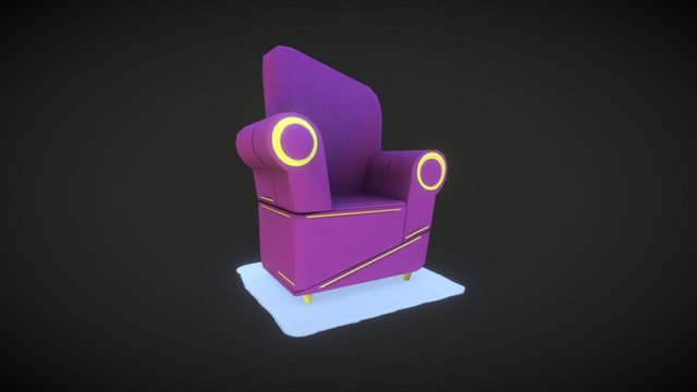 Big Idea Chair ( fan art) 3D Model