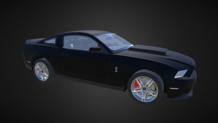 Shelby Gt 500 3D Model