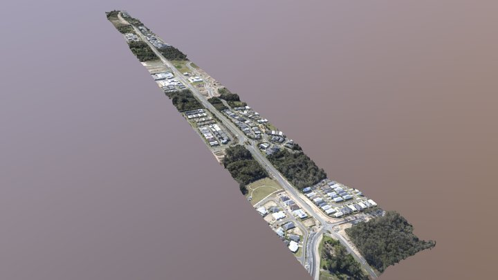 Yawalpah Road 3D Model 3D Model