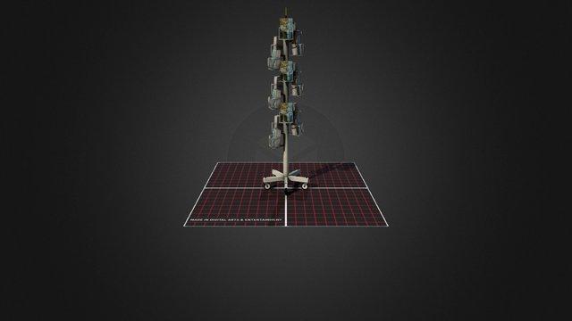 Card display 3D Model