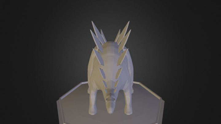 Stegosaurus Project 3D Model