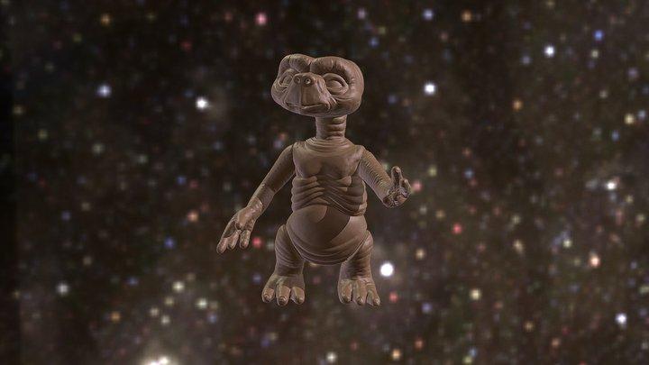 E.T. The Extra Terrestrial 3D Model