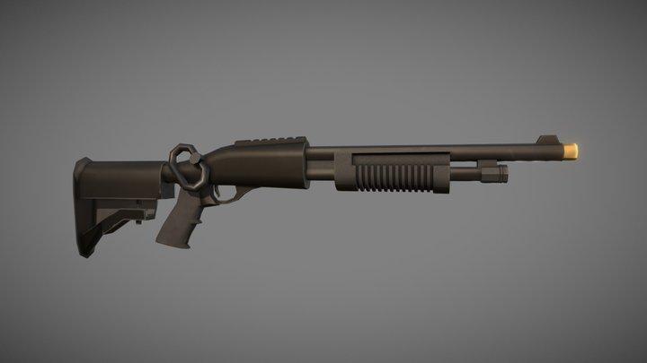 Sentinels of Freedom - Shotgun Upgrade 3D Model