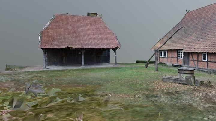 Wohnhaus Areal 3D Model