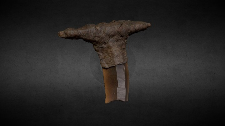 Late Mesolithic Blade 3D Model