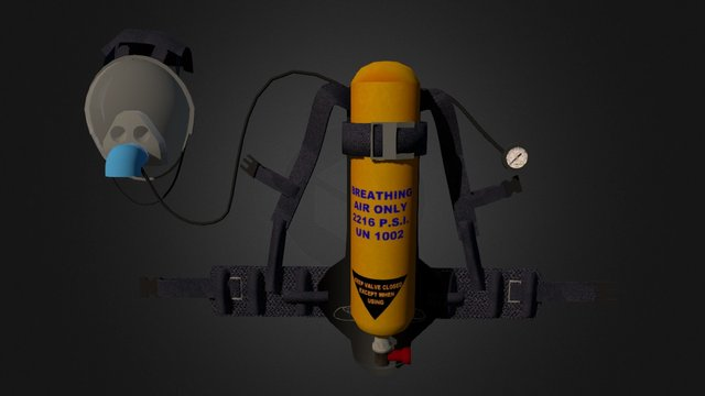 Breathing Apparatus 3D Model