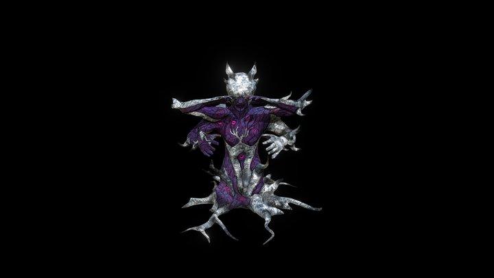 Evil Goddess statue 3D Model