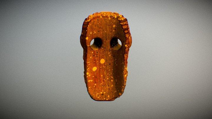 African mask number 2 3D Model