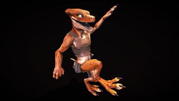 Kobold Rogue 3D Model
