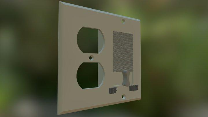 Outlet01 3D Model