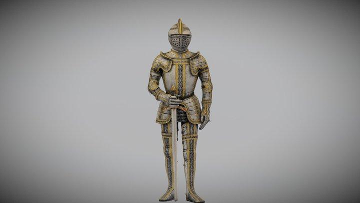 Knight 3D scan 3D Model