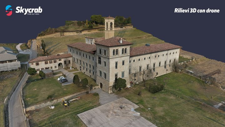 Monastero di Astino - Valle d'Astino (BG) 3D Model
