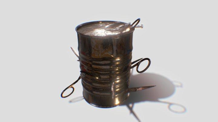 Nail Bomb - The Last Of Us 3D Model