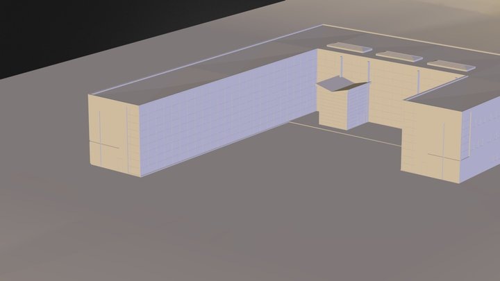 Technical School-current M- 3D Model