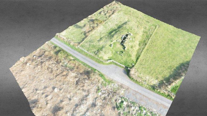 Court Tomb and Cairn, Ballymacdermot. 3D Model