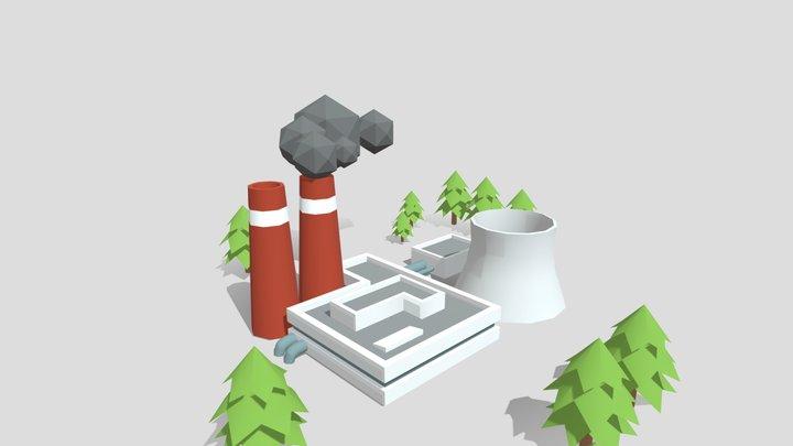 Usina 3D Model