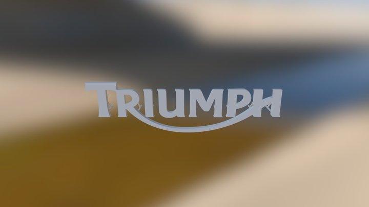 Triumph Logo 3D Model