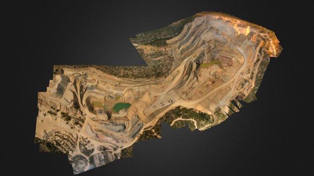 Cantera Losa 3D Model