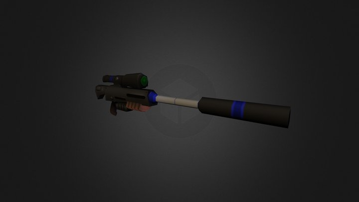 WeaponModel 3 - Spartans in Candyland 3D Model