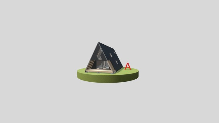 Új 'A' ház_A verzió 3D Model