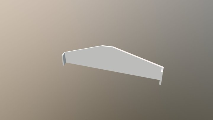 Wing- Edited 3D Model