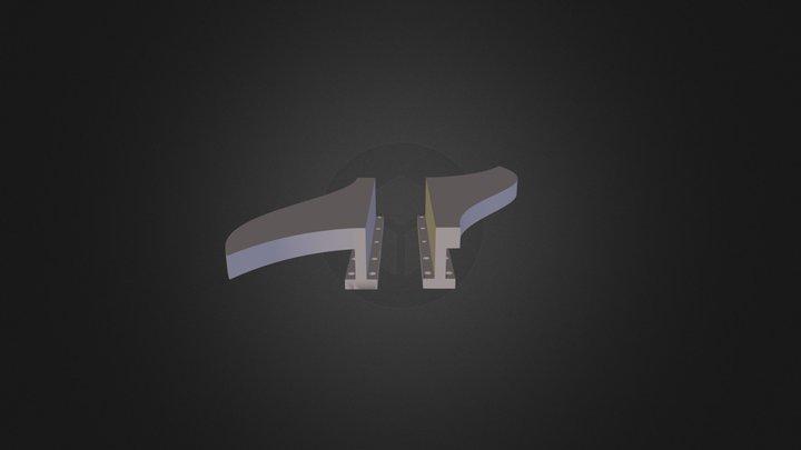 מחבר לאבקה 3D Model