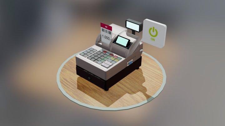 cash register [by Numiteg] 3D Model