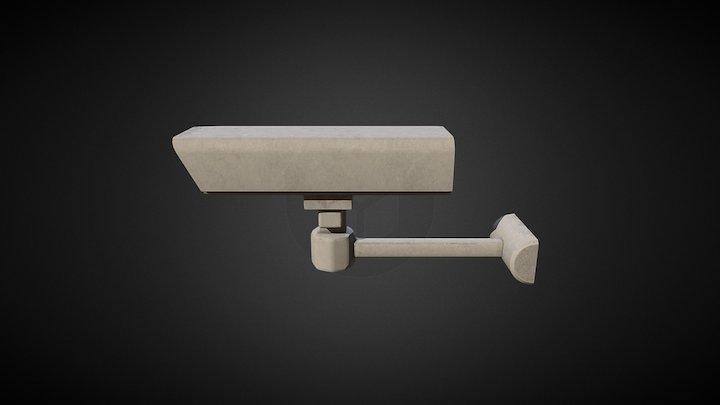 Security Camera. 3D Model