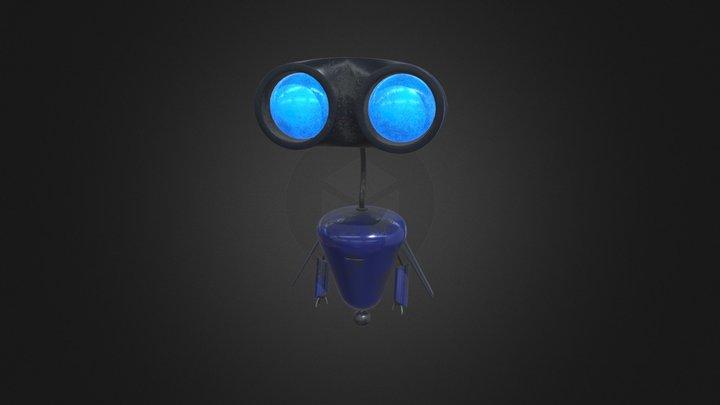 Bot Blue 3D Model
