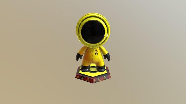 Hazmat Man 3D Model