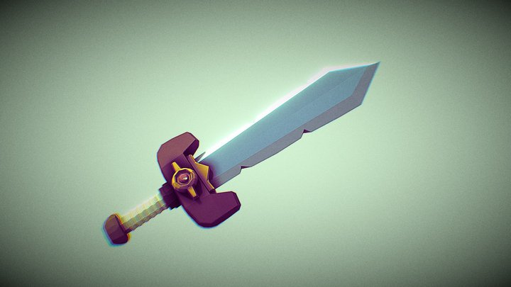 Espada Kokiriportafolio 3D Model