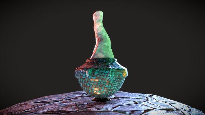 Blue Potion 3D Model