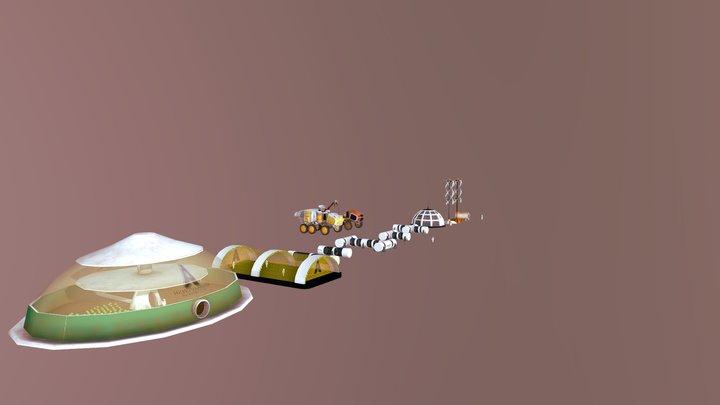Props Mars 3D Model
