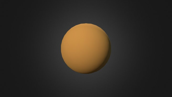 Dragonball 3D Model