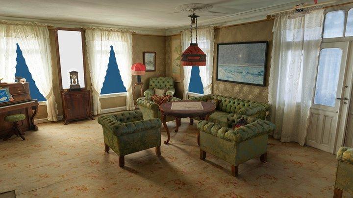 Stuen / Living room - AR 3D Model
