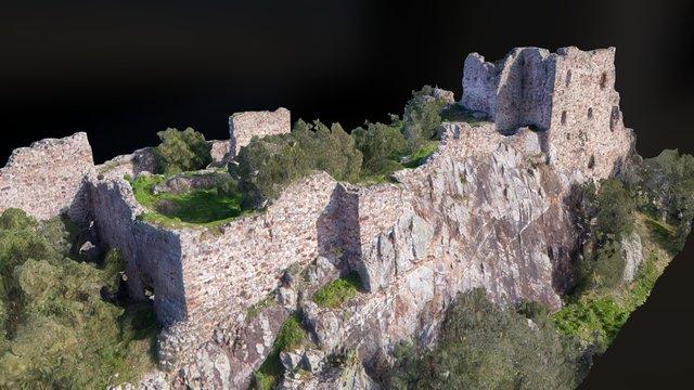 Ruinas del castillo de Mayorga (Badajoz) 3D Model